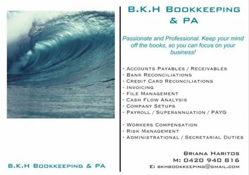 B.K.H Bookkeeping & PA - Accountants Canberra