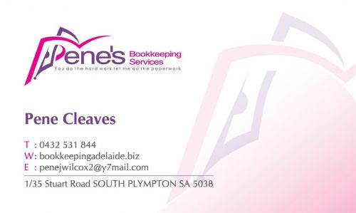 Pene's Bookkeeping Services - Accountants Canberra