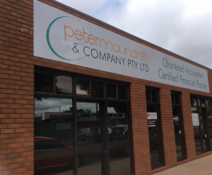 Peter Maundrell  Company Pty Ltd - Accountants Canberra